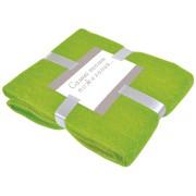 Плед 'MOHAIR', зеленый,  130х150 см; акрил,