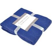 Плед 'MOHAIR',  синий,  130х150 см; акрил,