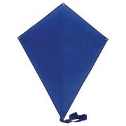 Воздушный змей 'РОМБ';  синий; 70*60 см; полиэстер; шелкография