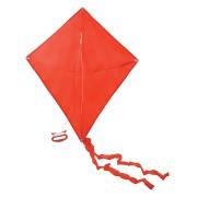 Воздушный змей 'РОМБ';  красный; 70*60 см; полиэстер; шелкография