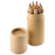 Набор цветных карандашей (12шт) 'Игра цвета' в футляре, 3,5х10,3 см,дерево, картон