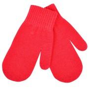 Варежки сенсорные 'In touch',  красный, М, акрил 100%.  шеврон