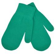 Варежки сенсорные 'In touch',  зеленый, М, акрил 100%.  шеврон