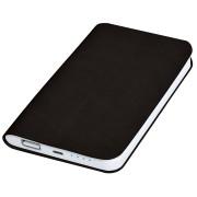Универсальное зарядное устройство 'Softi' (4000mAh),черный, 7,5х12,1х1,1см, искусственная кожа,пласт