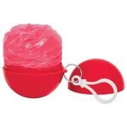 Дождевик 'Promo'; красный; универсальный размер, D=6,3 см; полиэтилен, пластик