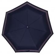 Складной зонт TAKE IT DUO, синий в полоску
