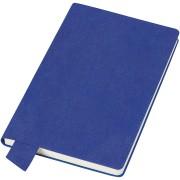 Бизнес-блокнот А5  'Provence', синий , мягкая обложка, в клетку