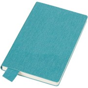 Бизнес-блокнот А5  'Provence', голубой , мягкая обложка, в клетку