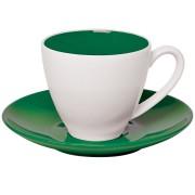 Чайная пара 'Galena' в подарочной упаковке, зеленый, 200мл, фарфор