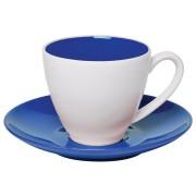 Чайная пара 'Galena' в подарочной упаковке, синий, 200мл, фарфор