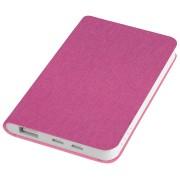 Универсальное зарядное устройство 'Provence' (4000mAh),розовый,7,5х12,1х1,1см, искусственная кожа,пл