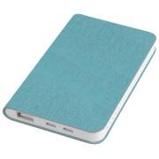 Универсальное зарядное устройство 'Provence' (4000mAh),голубой,7,5х12,1х1,1см, искусственная кожа,пл