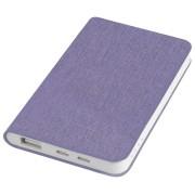 Универсальное зарядное устройство 'Provence' (4000mAh),фиолетовый,7,5х12,1х1,1см, искусственная кожа