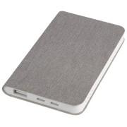 Универсальное зарядное устройство 'Provence' (4000mAh),серый,7,5х12,1х1,1см, искусственная кожа,плас
