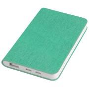 Универсальное зарядное устройство 'Provence' (4000mAh),зеленый,7,5х12,1х1,1см, искусственная кожа,пл