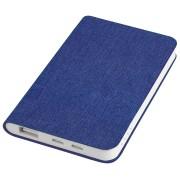 Универсальное зарядное устройство 'Provence' (4000mAh),синий,7,5х12,1х1,1см, искусственная кожа,плас