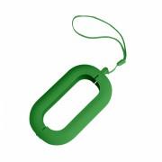 Обложка с ланъярдом к зарядному устройству 'Seashell-2', зеленый,силикон