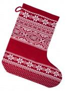 Носок для подарков «Скандик», красный