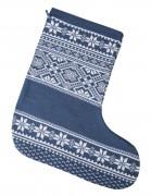Носок для подарков «Скандик», синий (индиго)