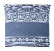 Подушка «Скандик», синяя (индиго)