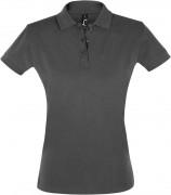 Рубашка поло женская PERFECT WOMEN 180 темно-серая