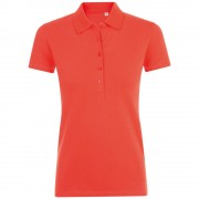 Рубашка поло женская PHOENIX WOMEN, красная