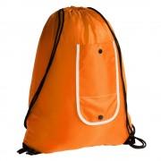 Рюкзак складной Unit Roll, оранжевый