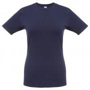 Футболка женская T-bolka Stretch Lady, кобальт (темно-синяя)