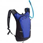 Рюкзак с питьевой системой Vattern, черный с синим