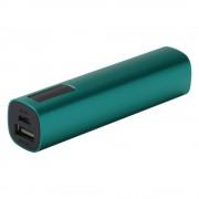 Внешний аккумулятор Easy Metal 2200 мАч, зеленый