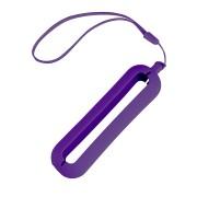 Обложка с ланъярдом к зарядному устройству 'Seashell-1', фиолетовый,силикон