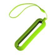 Обложка с ланъярдом к зарядному устройству 'Seashell-1', светло-зеленый,силикон