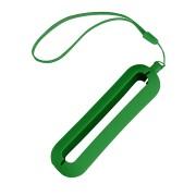 Обложка с ланъярдом к зарядному устройству 'Seashell-1', зеленый,силикон
