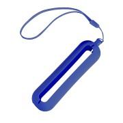Обложка с ланъярдом к зарядному устройству 'Seashell-1', синий,силикон