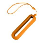 Обложка с ланъярдом к зарядному устройству 'Seashell-1', оранжевый, силикон