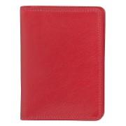 Бумажник водителя 'Модена',  10*14 см,  красный, кожа, подарочная упаковка