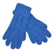 Перчатки  сенсорные 'Irish',  синий, М, акрил  шеврон
