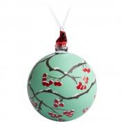 Елочный шар с фигуркой «Зимняя ягода», 10 см