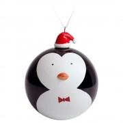 Елочный шар с фигуркой «Новогодний пингвин», 10 см