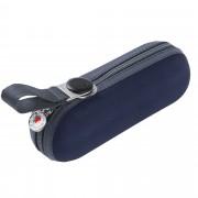 Зонт складной 811 X1 в кейсе, темно-синий