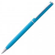 Ручка шариковая Hotel Chrome, ver.2, голубая