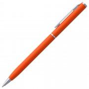 Ручка шариковая Hotel Chrome, ver.2, оранжевая