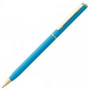Ручка шариковая Hotel Gold, ver.2, голубая