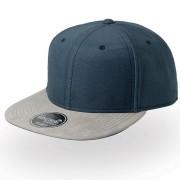 Бейсболка 'VIBE', темно-синий серый,6 клиньев,  100% полиэстер, 300 грм2