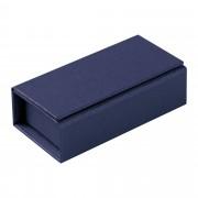 Коробочка под флешку Cocktail, синяя