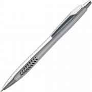Ручка шариковая Barracuda, серебристая