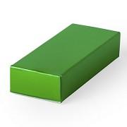 Подарочная коробка HALMER, зеленый, картон, 6 x 1,2 x 2,5 см