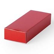 Подарочная коробка HALMER, красный, картон, 6 x 1,2 x 2,5 см