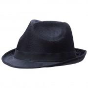 Шляпа Gentleman, с черной лентой