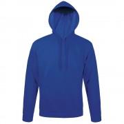 Толстовка с капюшоном SNAKE II ярко-синяя